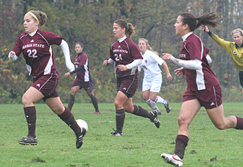 Women's Soccer Action